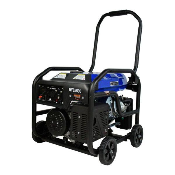 Generador Profesional de Gasolina 13.1HP 5500w_1