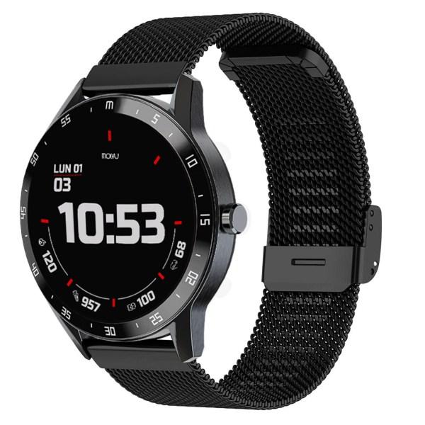 Reloj inteligente T6 Acero Inox-5