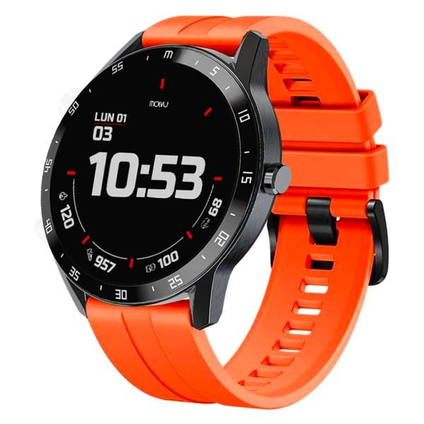 Reloj inteligente T6 Naranja-7