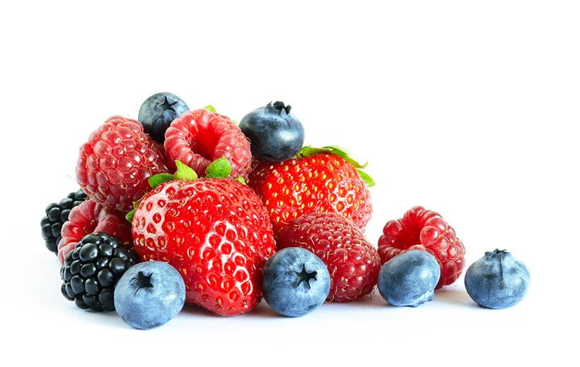 antioxidant rich berries macronutrition