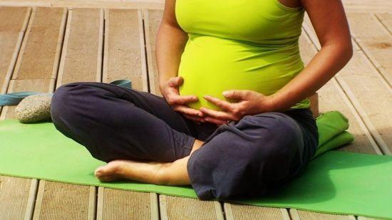 yoga en el embarazo
