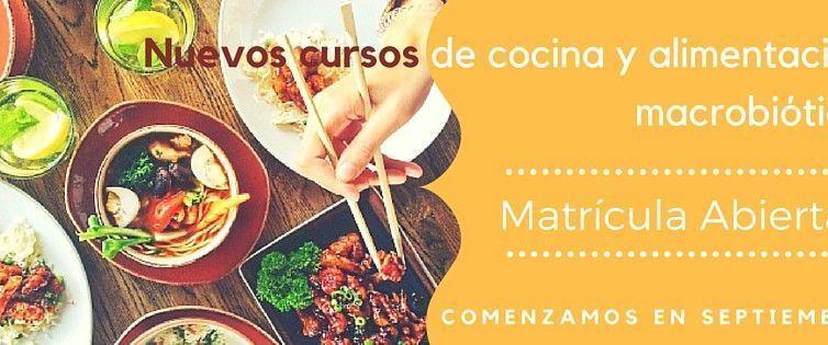 Nuevos cursos de cocina y alimentación macrobiótica