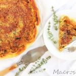 Tofu and vegetable quiche