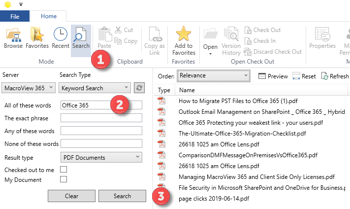 Adobe PDF SharePoint Search