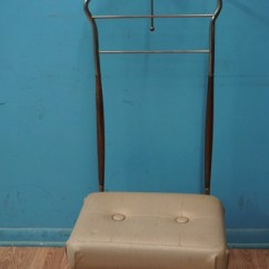 Mens Valet Chair Sit Stand Amazon Vintage Men S Macs Bids