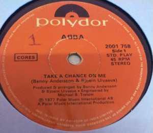 Abba English EP Vinyl Record www.macsendisk.com 2