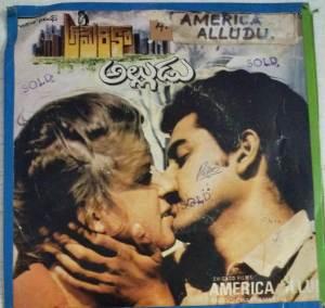 America Alludu Telugu Film EP vinyl Record www.macsendisk.com 2