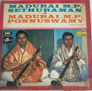 Instrumental Nadhaswaram LP Vinyl Records by Madurai MP Sethuraman & Ponnusamy www.macsendisk.com 1