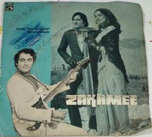 Zakhmee Hindi Film EP Vinyl Record by Bappi Lahiri www.macsendisk.com 2