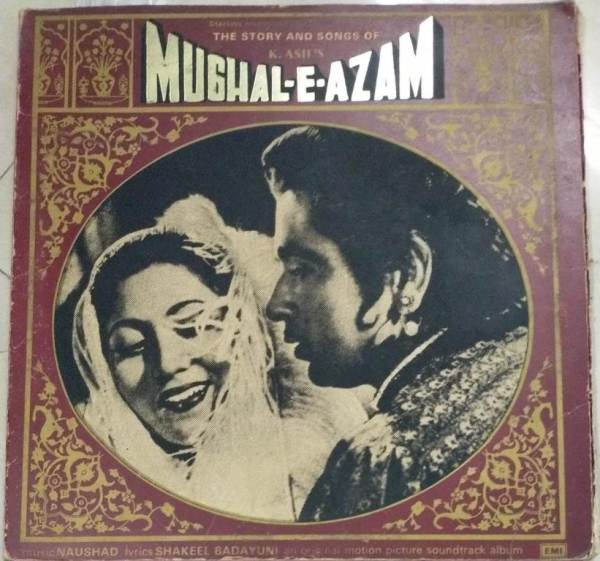 Mughal E Azam Hindi Film story and songs LP Vinyl Record set of 3 nos www.macsendisk.com 1