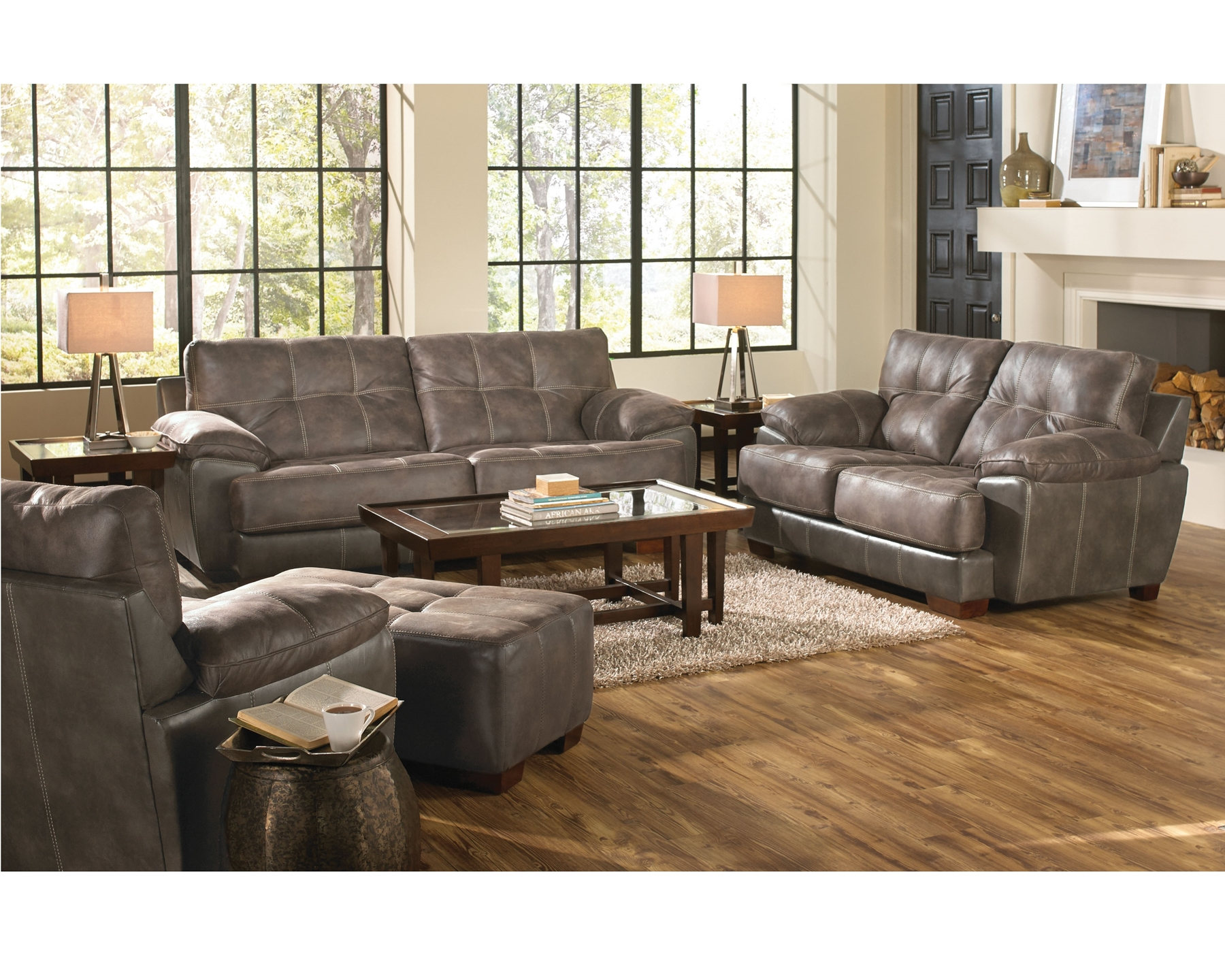 drummond grand leather sofa beige sectional sleeper drummon and loveseat  mac 39s furniture