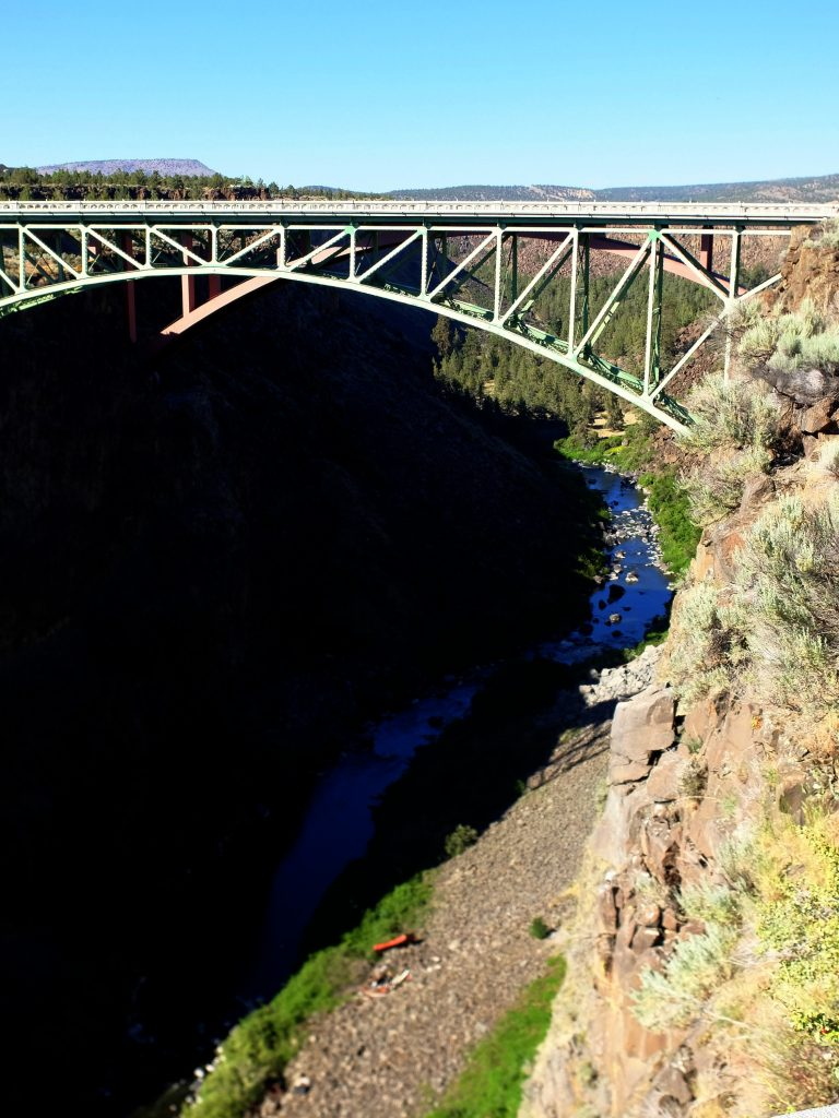 Bridges over Crooked River