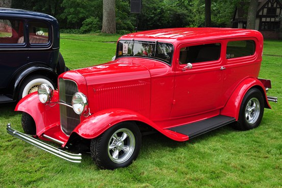 Jim and Jamie Nichols 1932 Ford Tudor Sedan