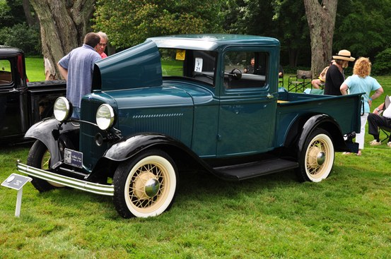 Joseph P. Abela 1932 Ford enclosed cab pickup