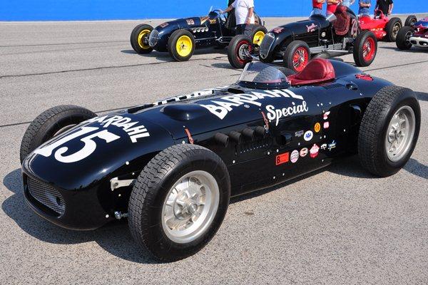 Bill Akin 1955 Kurtis-Kraft KK500B Bardahl Special