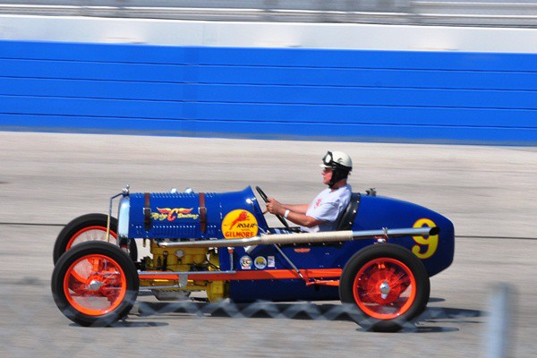Mark Heathman 1926 Ford Model T sprint car