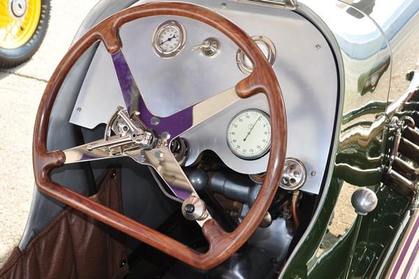 Miller 8 steering wheel