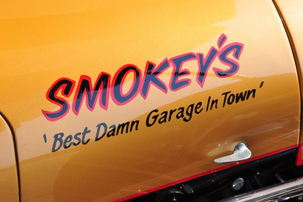 Smokey's best damn garage in town