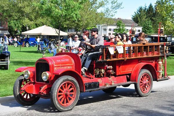 1923 Brockway fire truck