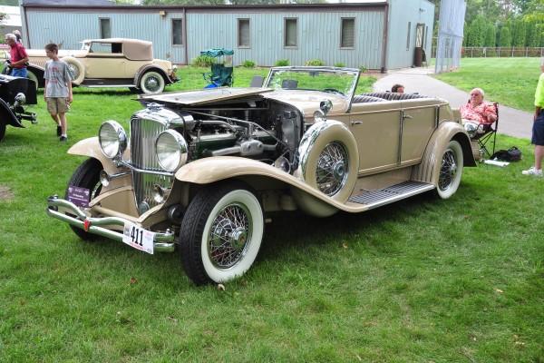 Jim Schenk 1934 Duesenberg Riviera Brunn Convertible Sedan LF
