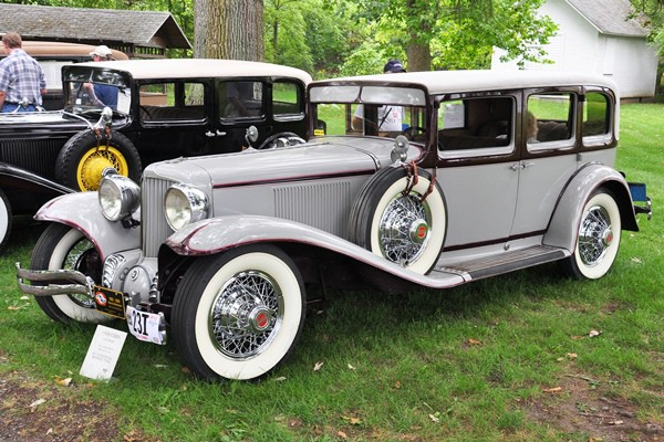 Bill and Linda Smith 1929 Cord L-29 Sedan
