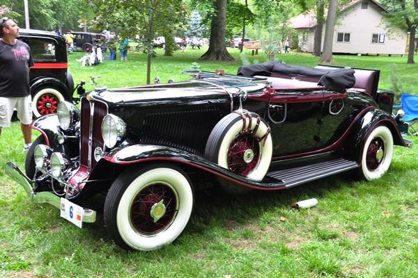 Dan McAuliffe 1931 Auburn 898 Cabriolet