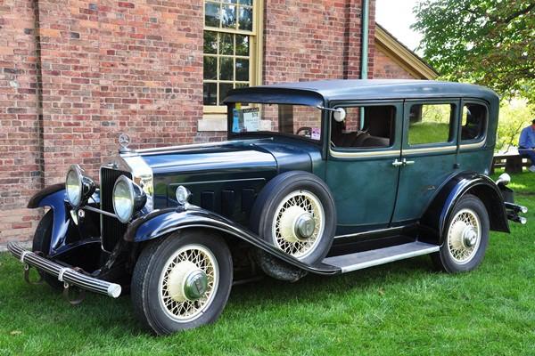 David Liepelt 1930 Willys-Knight 66B Sedan