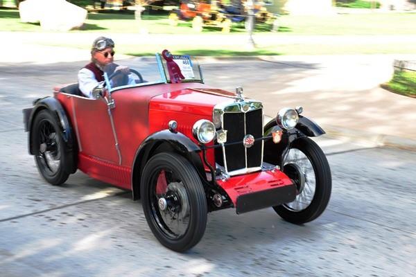 Eric R. Richardson 1930 MG Boat Tail roadster rf
