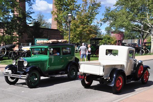 Ford Model A Tudor Sedan and Pickup