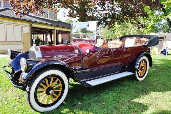 Gary Nowakowski 1917 Pierce-Arrow 48-B Touring