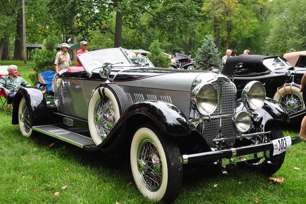 George Glaze 1930 Auburn Speedster
