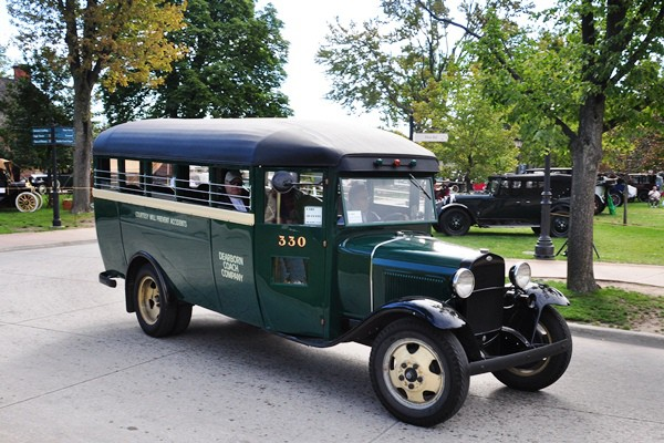 Greenfield Village Ford Model AA bus