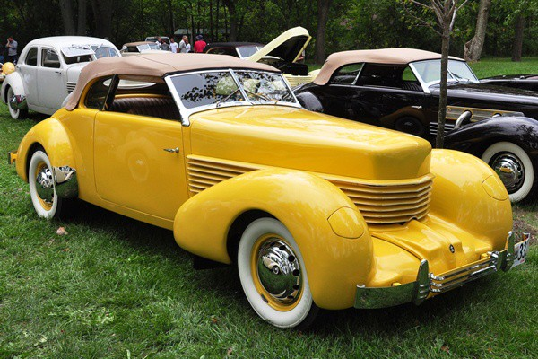 Hugh McKnight 1936 Cord Phaeton