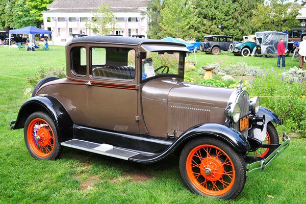 Jack Brewer 1928 Ford Model A Coupe