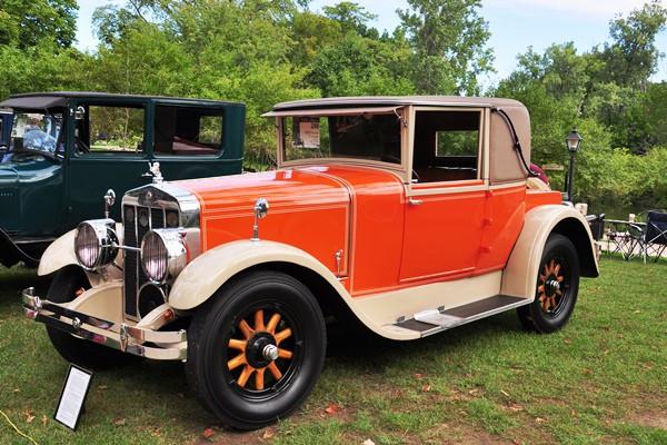 James C. Herber 1926 Franklin 11-A Coupe