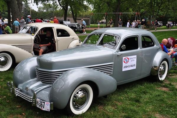 Josh Malks 1936 Cord 810 Westchester Sedan