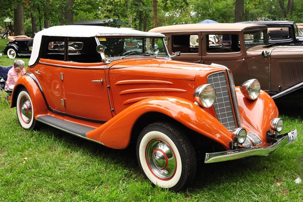 Lee and Bonnie Gorsuch 1934 Auburn 652Y Phaeton