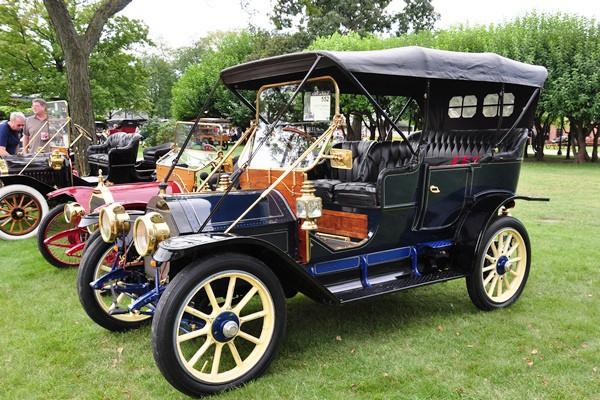 Verl Newman 1910  Cadillac 30 Touring