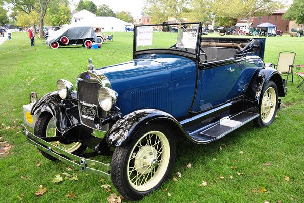 William Coleman 1929 Ford Model A Roadster