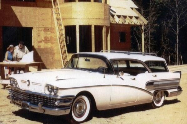 1958 Buick Riviera 49 station wagon