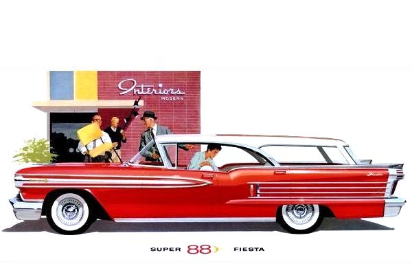 1958 Oldsmobile Super 88 Fiesta Station Wagon