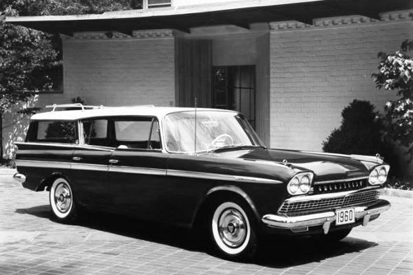 1960 Rambler Ambassador Station Wagon RF