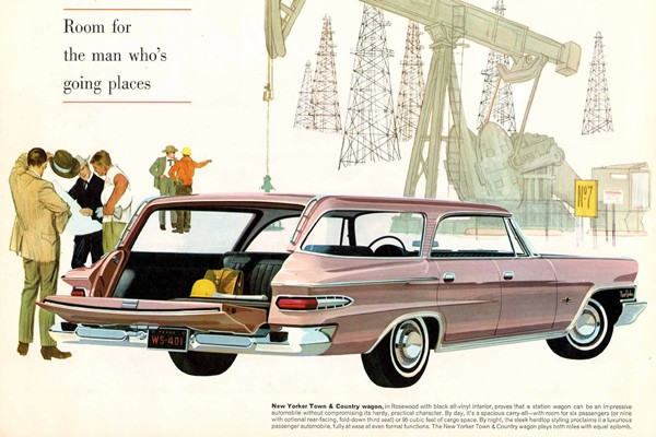1962 Chrysler New Yorker Town & Country RR