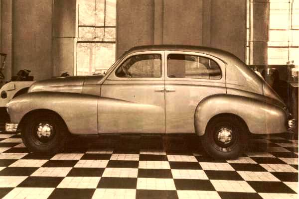 1946 Willys-Overland 6-66 prototype