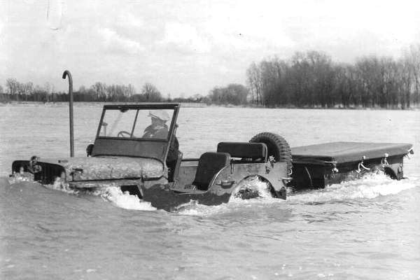 Jeep fording kit with trailer Maumee Bay