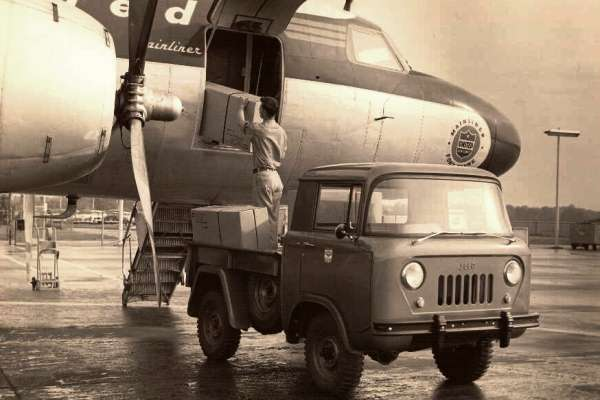 Willys FC airport utility vehicle