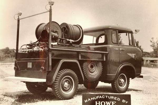 Willys Jeep FC Howe Fire hose truck