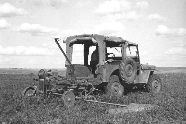 Willys Jeep mower1945