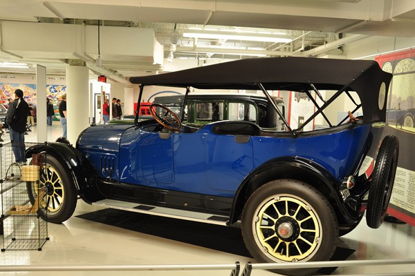 1917 Willys-Knight 8-88 Touring