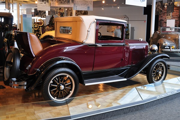 1928 Plymouth Model Q Deluxe Coupe
